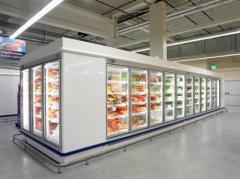 Cabinets of shock freezing