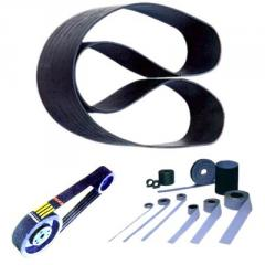 Belts of engine fan drive