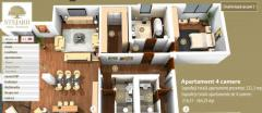 4-room apartments