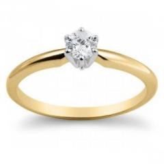 Inel de aur cu diamant