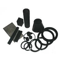 Nonmolded mechanical rubber articles