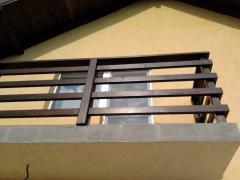 Balustrada de lemn