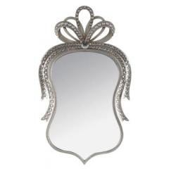 Oglinda perete metal + pietre 48x82