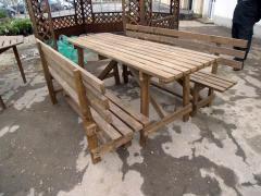 Produse din lemn pentru  grădinărit