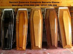 Decorating for coffins