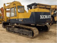 Excavator hidraulic pe senile