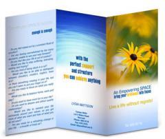 Brochures training