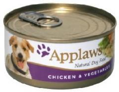 Hrana pentru caini Applaws Dog Adult - pui si vegetale 156g