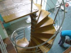 Railings made of stainless