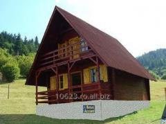 Case si cabane pe structura din lemn cu izolatie