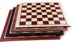 Table de sah din lemn