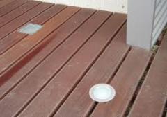 Deck de exterior- Itauba