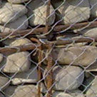 Gabions for reinforcing of steep slopes