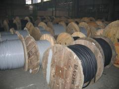 High voltage cable for power lines