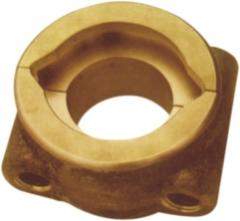 Casting from copper alloys (moulding)