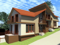 Case americane din lemn