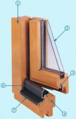 Windows from oak