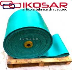 Rubber plates, mats, rugs