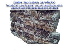 Decorative articles made of stone