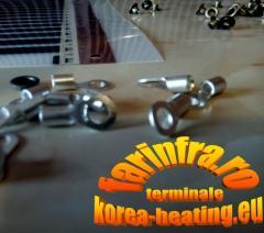 Terminale electrice pt. instalarea foliei termice Hot-Film