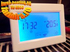 Termostat TR8200- touchscreen 4.3 toli pentru incalzire