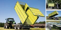 Remorci pentru transport agricol Fliegl