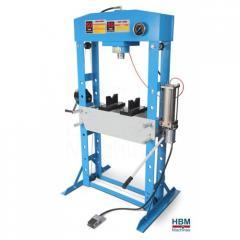 HBM 50 Tone Presa hidraulica si pneumatica