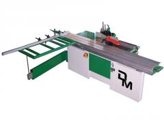 Radial saw machine