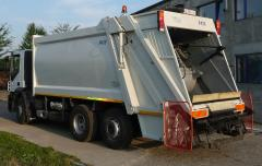 Dust-cart equipment for solid wastes