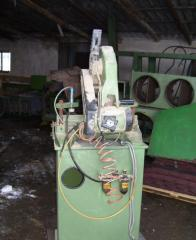 Machines for wood felling and skidding