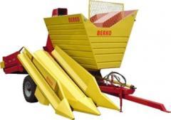 Equipment for corn harvesting