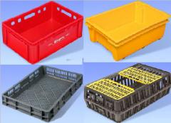 Boxes for meat, poultry, fish, vegetables, fruit,