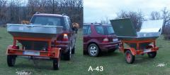 Remorcă auto pentru transportarea animalelor