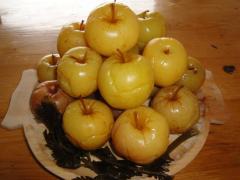 Pickled apples