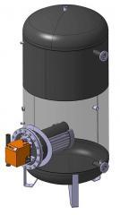 Storage hot water preparation TWH