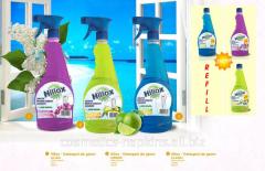 Detergenți lichizi pentru geamuri - Marca Hilox
