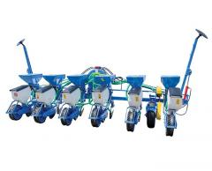 Precision sowing machines