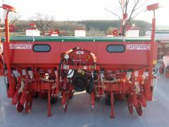 Pneumatic seeding-machines