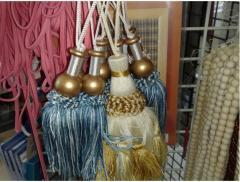 Braid with tassels