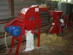 Feed cutter mills