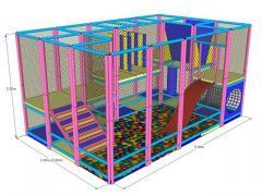 Labirint modular loc de joaca