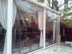 Transparent shutters