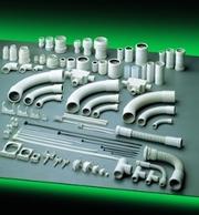 Accesorii pentru sisteme de conducte ELETTROCANALI, MATERIAL PLASTIC