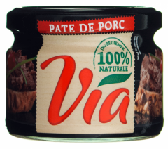 Liver paste, canned