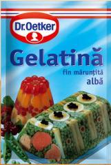 Inedible gelatine