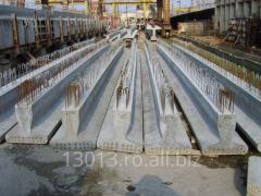 Grinzi din beton - precomprimat