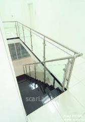 Balustrada  pentru scarile autoportante