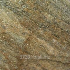 Mining mountain rock