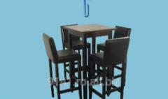 Masa bar cu scaun Malaga bar