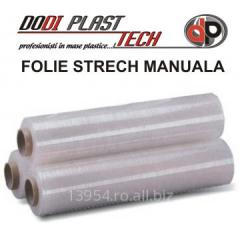 Folie stretch paletizare manuala